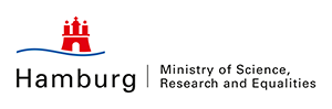 Logo Minister of Science, Research and Equalities Hamburg